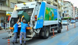 Alanya'da çöp toplama saatine Ramazan düzenlemesi