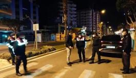 Alanya'da polis ve jandarmadan ceza