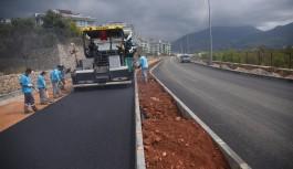 Hayri Doğan caddesinde asfalt çalışması başladı!