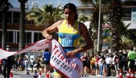 Alanya belediyesi Trıatlon takımı gururlandırdı