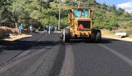 Alanya belediyesinden mahallelere asfalt
