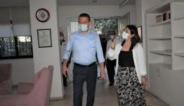 Alanya kadın konuk evine Devlet baba ziyareti