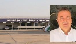 Gazipaşa-Alanya havalimanı müdürü: Bir ışık görmüyoruz. Dua edeceğiz!