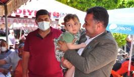 Mahmutlar Ahmet bebek için seferber oldu!