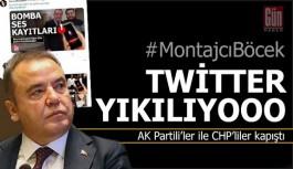 #MontajcıBöcek Türkiye gündeminde...