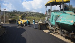 Alanya belediyesinden Seki ve İshaklı mahallesine asfalt!