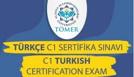ALKÜ Tömer'den Türkçe sertifika sınava