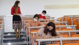 ALKÜ YÖS sınavı dokuz merkezde başarıyla yapıldı