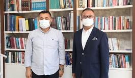 ALSİAD Başkanı Ali Kamburoğlu'ndan ziyaret!