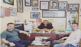 Başkan Yücel ve Türkdoğan'dan Manşet Alanya'ya ziyaret!