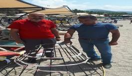 Carettalar Alanya'nın Konaklı sahiline yumurtalarını bıraktı