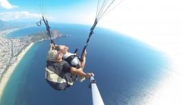 Alanya'da paraşüt kazası