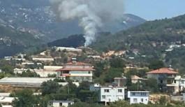 Alanya Toslak, Yeniköy ve Hacıkerimler bölgesinde yangın çıktı..