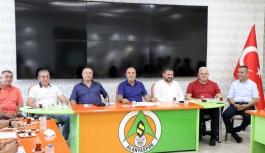 Alanyaspor'da görev dağılımı yapıldı