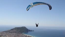 Alanya'da yamaç paraşüt müsabakası başlıyor