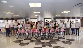 ALTSO'dan örnek hareket: Başarılı öğrencilere tablet ve bisiklet!