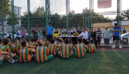 Bursa Alanyaspor Futbol Okuluna ziyaret
