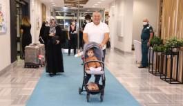 Ahmet bebek Alanya'ya döndü