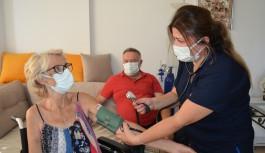 Alanya'da koronavirüs süresinde evde bakım hizmetleri arttı
