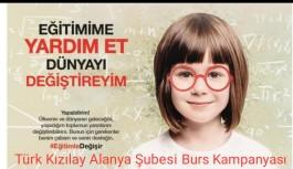 Alanya Kızılay'dan öğrenci burs çağrısı