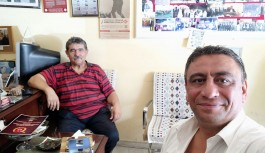 Hayri Arıkan'dan Manşet Alanya'ya ziyaret