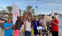 Plajda şampiyon Alanyaspor oldu