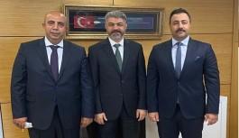 Rektör Kalan'ın Ankara çıkarması