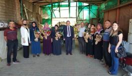 Alanya'da 'Dünya Kadın Çiftçiler Günü' kutlandı
