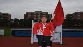 Alanyalı Dilara dünya şampiyonu oldu