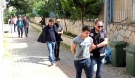 Alanya'da suç örgütüne tutuklama