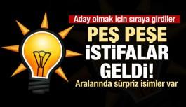 Türkiye genelinde AK Parti'de aday...