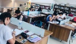 Öğrenciler Hacıkura'da hazırlanıyor
