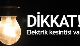 İşte yarın Alanya'da elektrik kesintisi olacak mahalleler