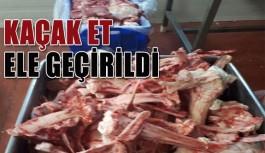 Kaçak etler Alanya'ya getiriliyordu