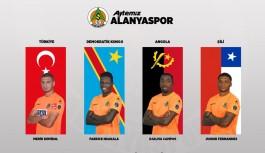 Alanyaspordan milli takımlara 4 futbolcu