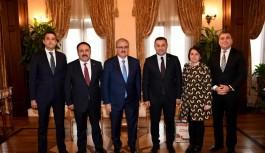 Başkan Yücel'in Antalya çıkarması...