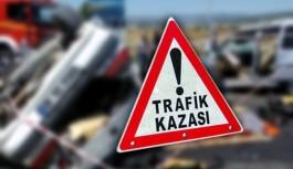 Gazipaşa'da kaza 2 yaralı