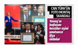 CNN Türk'ün Ekrem İmamoğlu fotomontaj...