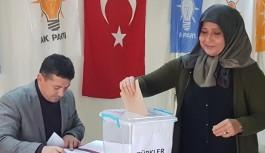 AKP Alanya da delege seçimi sürüyor!