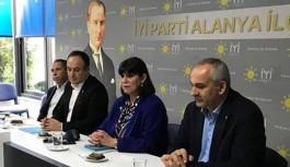 İyi Parti Alanya teşkilatına sürpriz...