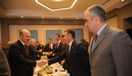 Başkan Yücel, Bakan Soylu ile görüştü!