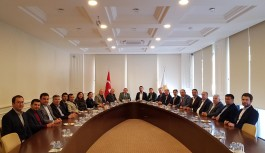 CHP'den AK Partiye ziyaret