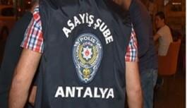 Gazipaşa'da hırsızlık!