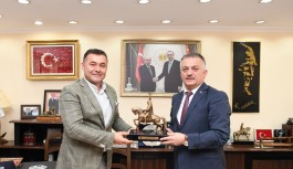 Antalya valisi Alanya'da!