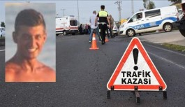 Alanya'da yaşayan genç kaza kurbanı!