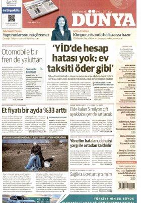 Manşet Alanya Haber Protalı - 10.09.2020 Manşeti