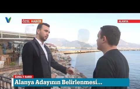 Ak Parti Alanya ilçe başkanı Mustafa Toklu konuştu