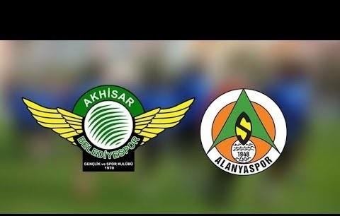 Akhisarspor 3 - 1 A. Alanyaspor Maç Özeti