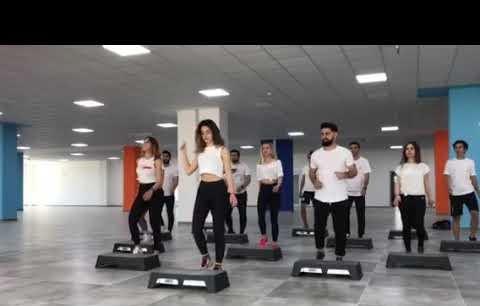 Alanya Alaaddin Keykubat üniversitesi spor bilimler fakültesi step aerobik