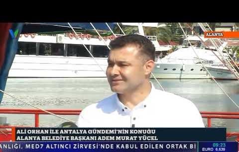 Alanya Belediye Başkanı Adem Murat Yücel, canlı yayında konuştu...